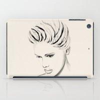 alex turner iPad Cases featuring ALEX by Giada Engelke-Oelbracht
