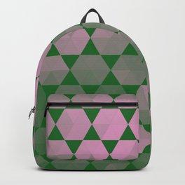 Purple Hex Backpack