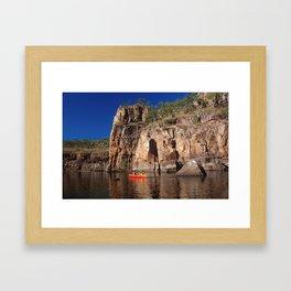Katherine Gorge Framed Art Print