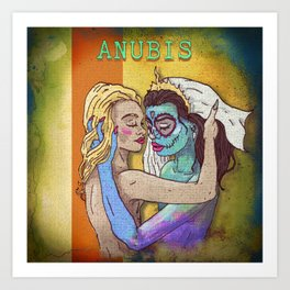 Aunbis Art Print