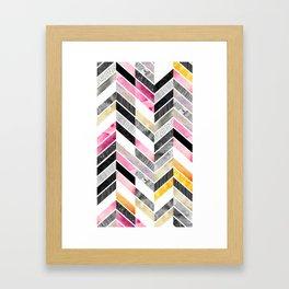 Arabescato Framed Art Print