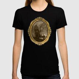 Dark Victorian Portrait: The Familiar T-shirt