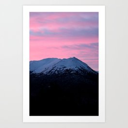 Sunrise Landscape Art Print