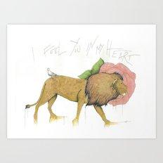 I Feel You In My Heart Art Print