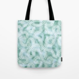 Knotty Abstract Tote Bag