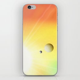 Lichtuniversum. iPhone Skin