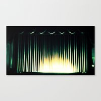 theater Canvas Prints featuring Theater by Lipstick Vandalism