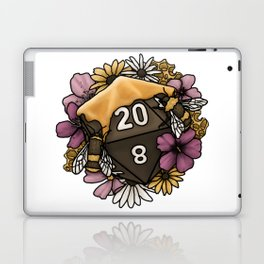 Honeycomb D20 Tabletop RPG Gaming Dice Laptop & iPad Skin