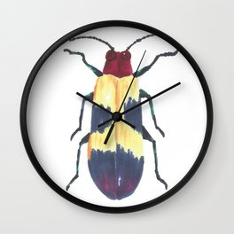 Beetle 3 Wall Clock