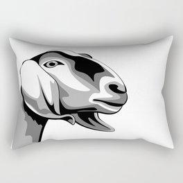 Nubian Dairy Goat Rectangular Pillow