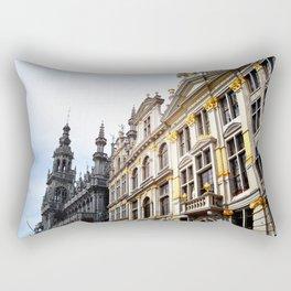 La Grand Place, Brussels, Belgium. Rectangular Pillow