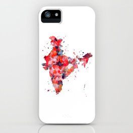 India Map iPhone Case