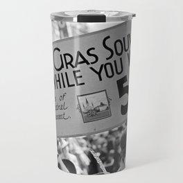 Mardi Gras in 1938 - Restored Travel Mug