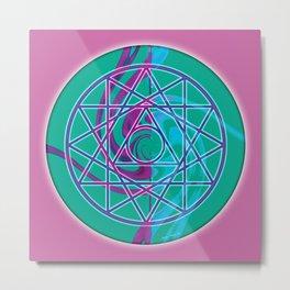 Sacred Geometry Mandalas 7 Metal Print