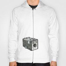 Kodak Box Brownie Camera Illustration Hoody