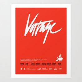 Voltage - Poster Variant Art Print