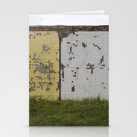 tetris Stationery Cards featuring tetris by Jan Luzar