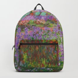 "Claude Monet ""The Artist's Garden at Giverny"" Backpack"