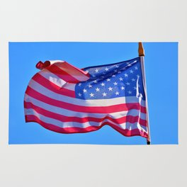 Keep Flying that US Flag you Patriot you Rug