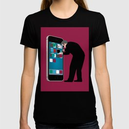Indiscriminate Collection of U.S. Phone Records Violates the Fourth Amendment T-shirt