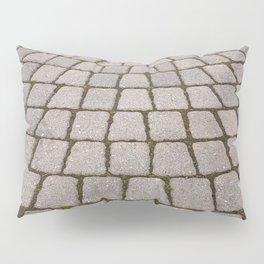 Radial Pavement Tiles Pillow Sham