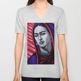 Frida Kahlo Virgin Unisex V-Neck