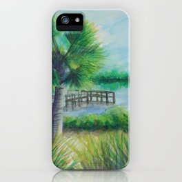 Dusk on the River MM160216h iPhone Case