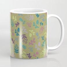 Ditsy Flowers in Army Mug