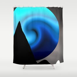 Lovely World Shower Curtain