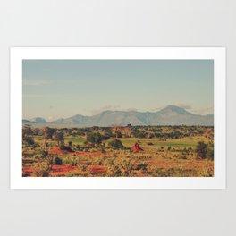 Vintage Africa 26 Art Print