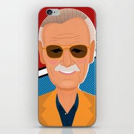 Stan Lee iPhone Skin
