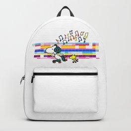 Snoopy Woodstock Peanuts Backpack