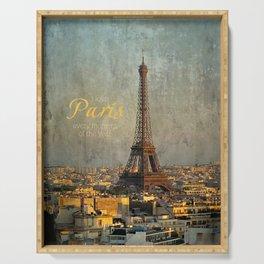I love Paris Serving Tray