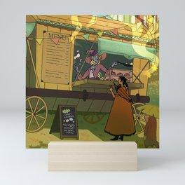 Taako's Food Cart Mini Art Print