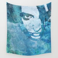 halo Wall Tapestries featuring Hypothermia In A Halo by Kiss My Art