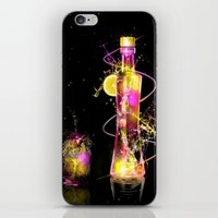 vodka iPhone & iPod Skins featuring Vodka Illustration by Apothec