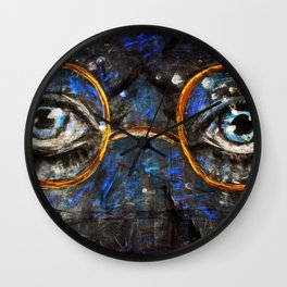 Gatsby Eyes Wall Clock