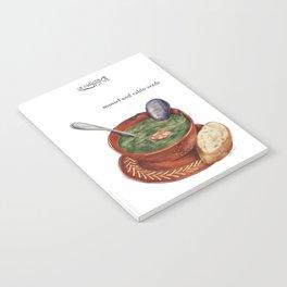 La Cuisine Fusion - Mussels with Caldo Verde Notebook