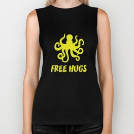 Free Hugs Biker Tank