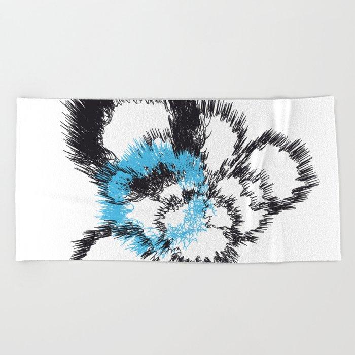 negrin2-white Beach Towel