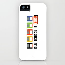 Floppy Disk iPhone Case