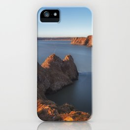 Rugged Three Cliffs Bay and the Great Tor iPhone Case
