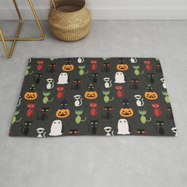 Halloween Cats Rug
