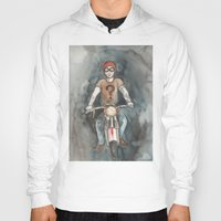 moto Hoodies featuring Moto by Bluedogrose