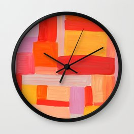 COLOR STUDY Wall Clock