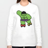 skate Long Sleeve T-shirts featuring skate skate skate.... by Ziqi