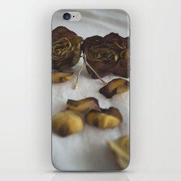 Wishbone and Roses iPhone Skin
