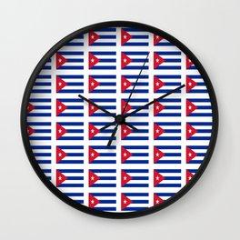 Flag of Chile 2 -Spanish,Chile,chilean,chileno,chilena,Santiago,Valparaiso,Andes,Neruda. Wall Clock