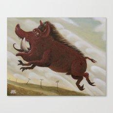 Ave Satani 2 Canvas Print