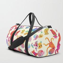 Cephalopod - pastel Duffle Bag